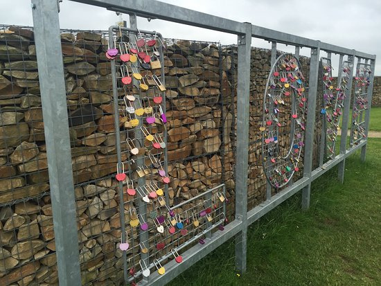 Famous Blacksmiths Shop: LOVE fence