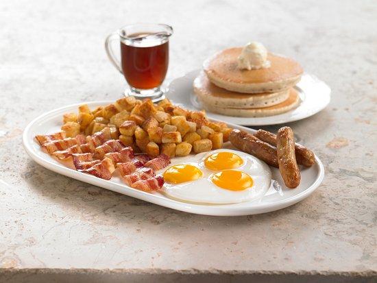 Stevenson Ranch, Californië: Triple Mega Breakfast
