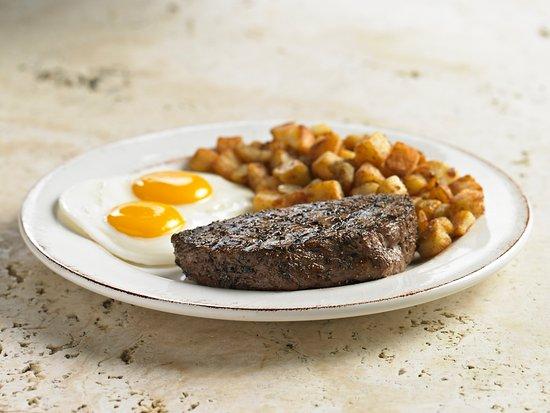 Stevenson Ranch, Californië: Steak and Eggs