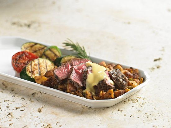 Stevenson Ranch, Kalifornia: Steak & hash