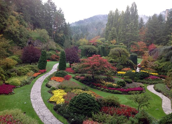 Butchart Gardens Picture Of The Butchart Gardens Central Saanich Tripadvisor