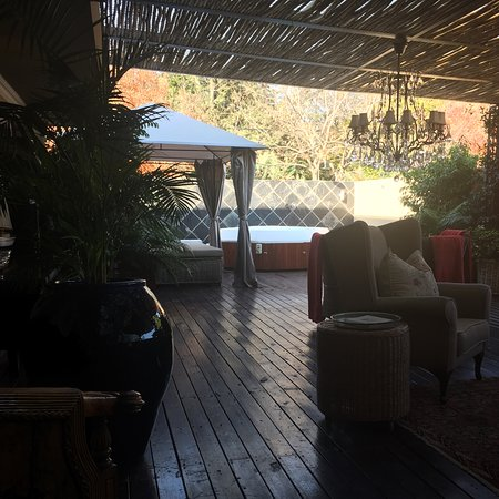 The Residence Boutique Hotel: The terrace
