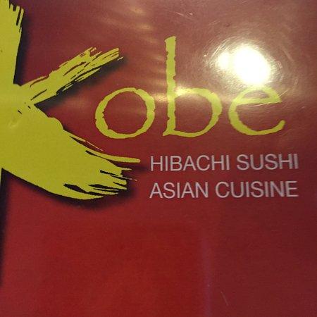 Kobe Hibachi Sushi Asian Cuisine: menu