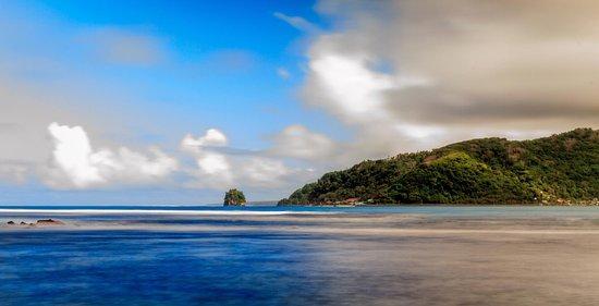 American Samoa: Shot of Fatu ma futi.