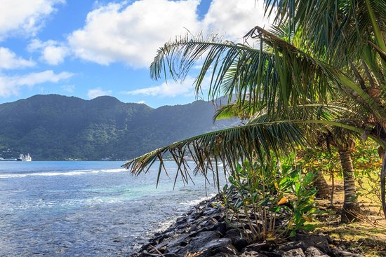 American Samoa: Looking toward Fa'agalu.