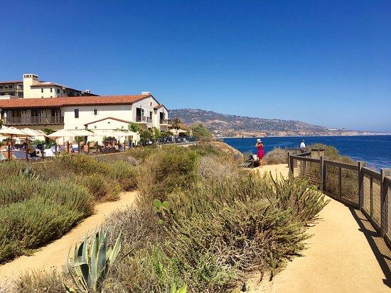Rancho Palos Verdes, CA: Walk way along cliffs