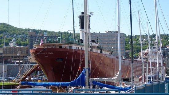 S.S. William A. Irvin Ore Boat Museum: William A. Irvin Ship