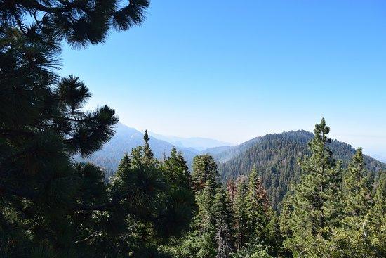 Three Rivers, Californien: panoramic point