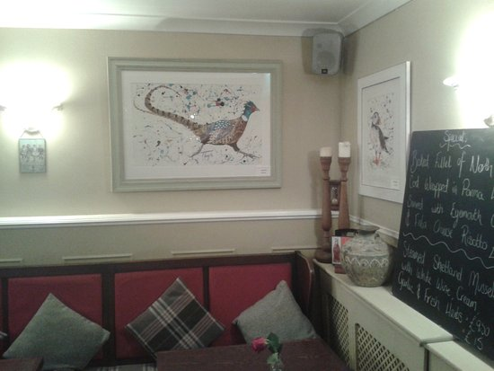 Allanton Inn: Tastefully and comfortable decorated.