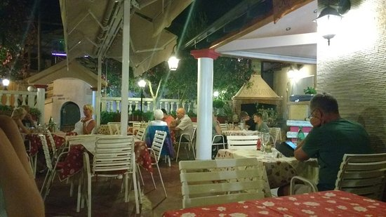 Giardino: Terrace of the restaurant