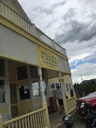 Three Forks, MT: Front of the building