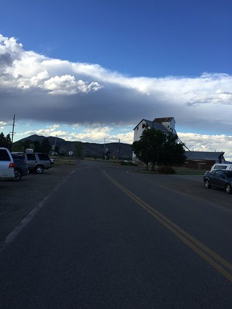 Three Forks, MT: Looking down the street the other way