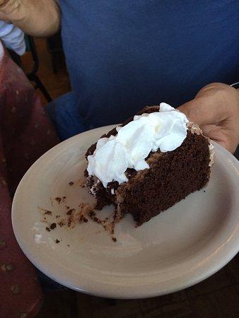 Three Forks, MT: Dessert one Chocolate Cake
