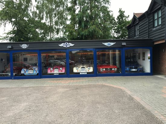 Little Hallingbury, UK: Some of the most beautiful cars in the world!