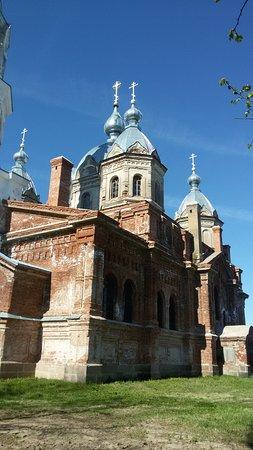 Leningrad Oblast, รัสเซีย: Церковь в Старополье