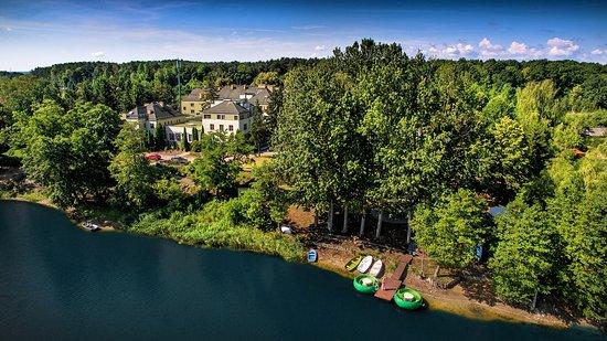 Debowa Gora: nad jeziorem