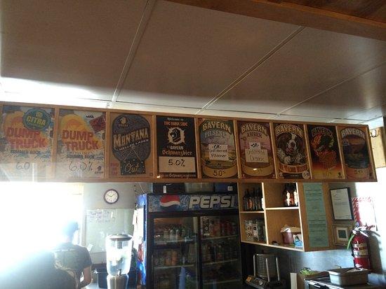 Missoula, MT: selection of beer