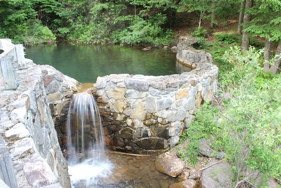 Franconia, Nueva Hampshire: Pond at the enterance