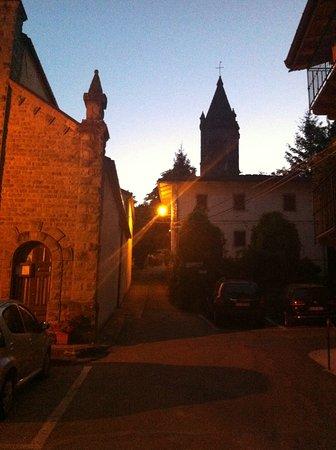 Hotel Gabriella : Canevare al tramonto