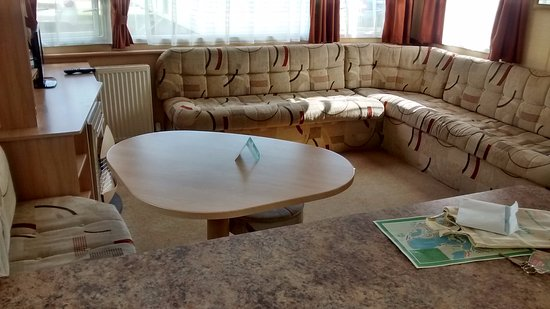Tattershall, UK: Comfort Caravan seating area