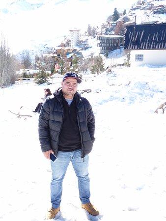 Farellones, Chile: Mi hermano