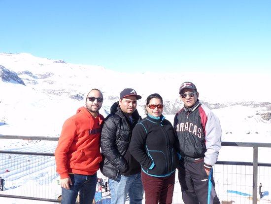 Farellones, Chile: En familia