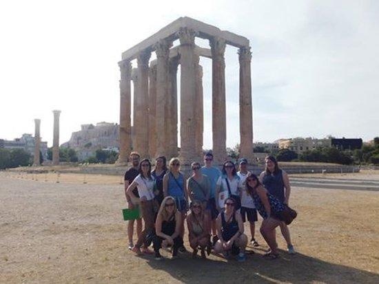 Attica, Yunanistan: Temple of Zeus