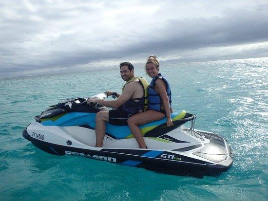 Moorea, Fransız Polinezyası: Jet Ski
