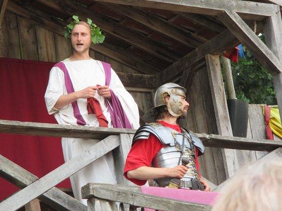 Alphen aan den Rijn, Niederlande: belangrijke romeinse man