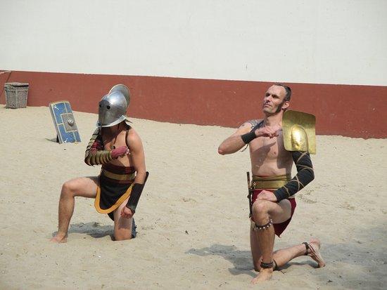 Alphen aan den Rijn, Nederland: de gladiatoren.