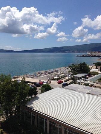 Bijela, Montenegro: The private beach