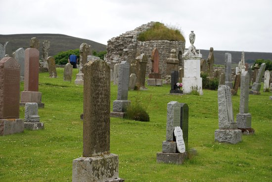 Orphir, UK: Cemetery