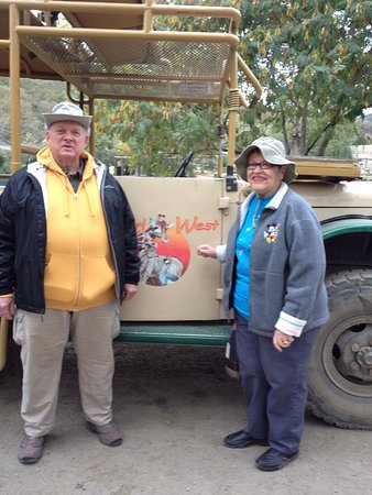 Safari West: Ready for the ride!