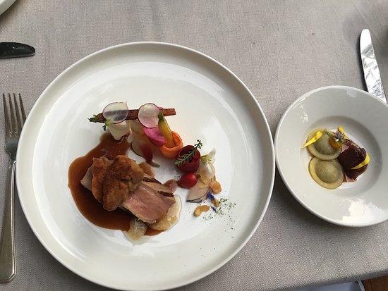 Zeist, Hollanda: cowing and ravioli