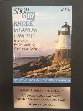 North Providence, Rhode Island: Genesis Grille & Lounge