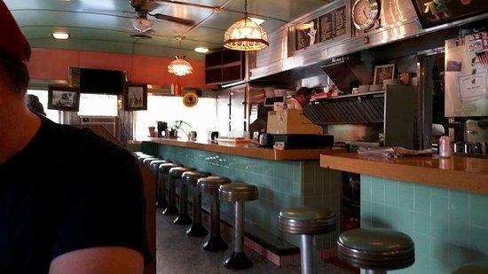 Livingston Manor, นิวยอร์ก: Interior of the Robin Hood Diner