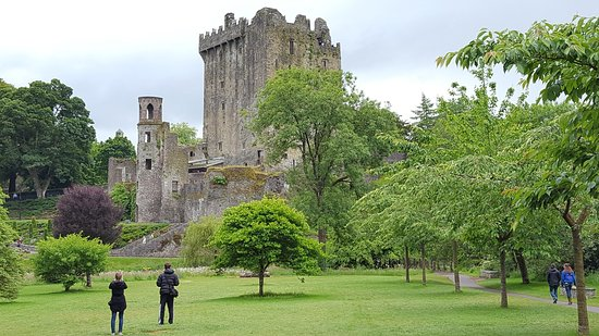 Gowran, İrlanda: Blarney Castle where you can kiss the Blarney Stone.