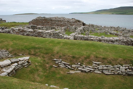Evie, UK: The Broch of Gurness