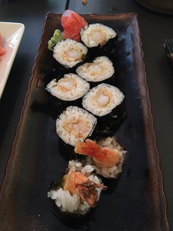 Kyoko's Restaurant: Shrimp Tempura Roll