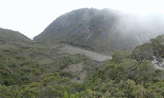 Volcan Baru National Park : En la cima de volcan Baru el punto mas alto de panama