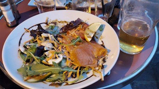 Dinner à Paris