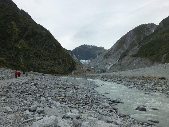ฟรานซ์โจเซฟ, นิวซีแลนด์: Along the Franz Josef Glacier trail