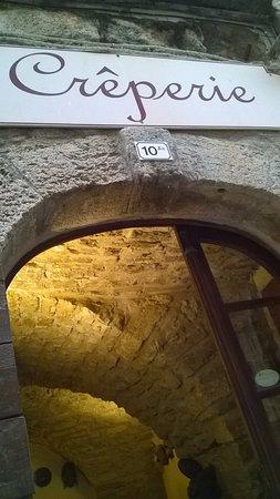 Vic-la-Gardiole, Fransa: entrée de la crêperie