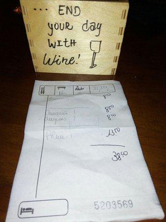 Bar con encanto y cena romántica