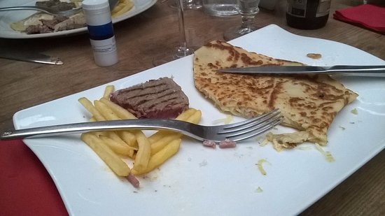 Vic-la-Gardiole, Fransa: crêpe anglaise