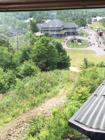 Bretton Woods, Nueva Hampshire: Mount Washington COG Railway Main Entrance