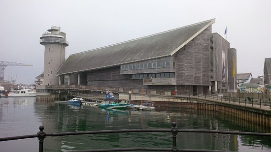 Falmouth, UK: The museum