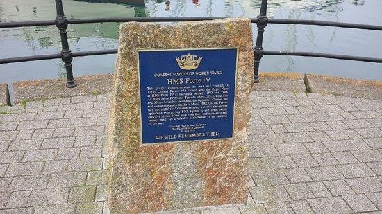 Falmouth, UK: Memorial