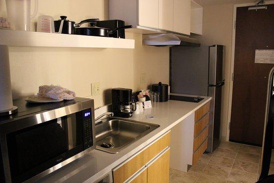 Triadelphia, Virginie-Occidentale : Full kitchen in rooms! Nice!!