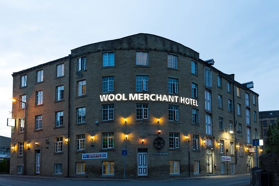 Wool Merchant Hotel: Front of hotel